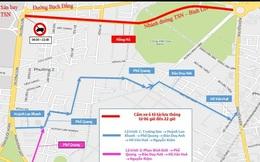 Ngày mai cấm xe tải trên hai tuyến đường vào sân bay Tân Sơn Nhất