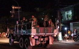 Cận vệ thủ tướng Campuchia bao vây đảng đối lập