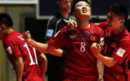 """""""Sát thủ"""" lập hat-trick giúp ĐT futsal Việt Nam đại thắng tại World Cup là ai?"""