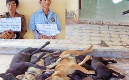 Bắt giữ 3 đối tượng trong nhóm trộm chó liên tỉnh