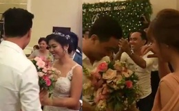 Mượn hoa cô dâu, chàng trai đã có hành động bất ngờ tại đám cưới