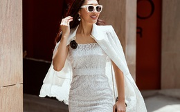 Diệu Ngọc nổi bật với phong cách street style