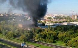 Cháy nhà kho ở Moskva, ít nhất 16 người thiệt mạng