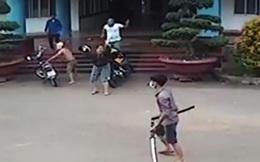 Bắt nhóm thanh niên dùng kiếm truy sát nhau ở bệnh viện