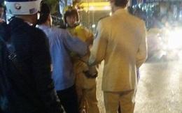 CSGT bị tài xế đâm thẳng vào người, hất văng trên phố Hà Nội