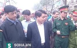 Chủ tịch Chung đến hiện trường chỉ đạo 6 nhiệm vụ khẩn sau vụ nổ