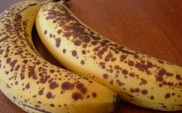 Chớ vội bỏ những trái chuối chín rục có đốm đen đi, chúng sản sinh chất chống ung thư cực tốt
