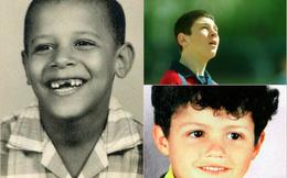 Loạt ảnh hồi nhỏ cực hiếm của cầu thủ bóng đá, ca sĩ, diễn viên nổi tiếng: Bạn nhận ra ai?