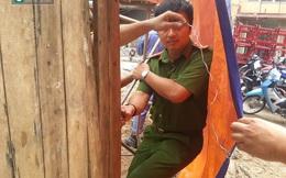 Hiện trường vụ sập giàn giáo khiến 6 người thương vong ở Hà Nội