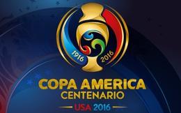 Lịch phát sóng trực tiếp Copa America Centenario 2016