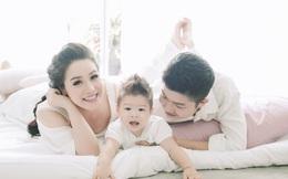 Nhật Kim Anh ngập tràn hạnh phúc bên chồng con