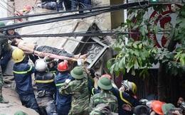 """Thông tin mới nhất về vụ sập nhà ở Cửa Bắc: """"Tỉnh dậy thấy mình đang đi viện"""""""