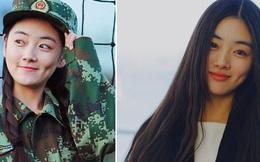 Nữ sinh có nụ cười đẹp nhất mùa tập quân sự