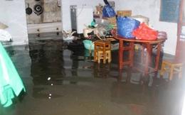 Vỡ bờ đê, hàng trăm hộ dân ở Sài Gòn bị nước tràn vào phải sơ tán khẩn cấp