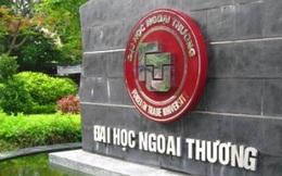 Điểm chuẩn Đại học Ngoại thương năm 2016 cao nhất 34,5