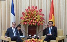 Tổng thống Pháp hội kiến Bí thư Thành ủy Đinh La Thăng