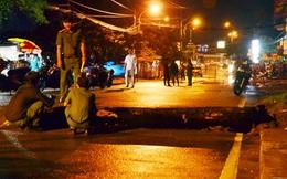 Cầu bất ngờ sụt lún như... 'hàm ếch' ở Sài Gòn sau mưa lớn