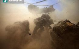 Thán phục khả năng hoạt động của lính Mỹ trong bão cát