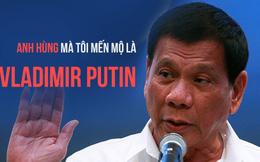 Được yêu cầu chọn Trump/Clinton, Duterte đáp: Anh hùng mà tôi mến mộ là Putin