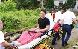 Tài tử TVB nhập viện sau cảnh đua xe máy