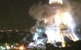 Ngay sau vụ thảm sát đám đông ở Nice, dân Paris hoảng loạn vì thấy tháp Eiffel bốc khói