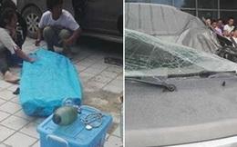 """Vừa đỗ xe bên đường, tài xế chết thảm vì một người đàn ông """"từ trên trời rơi xuống"""" theo đúng nghĩa đen"""