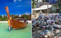 """Bỏ cả đống tiền để đến đảo """"thiên đường"""", du khách thất vọng khi lạc vào xử sở của rác"""