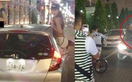 Phản cảm hình ảnh 3 thiếu nữ khỏa thân nhảy tưng bừng trên ô tô giữa phố