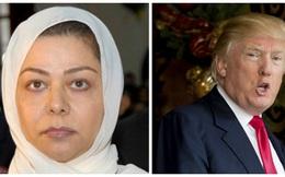 Con gái của Saddam Hussein ca ngợi ông Donald Trump
