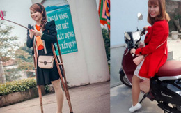 Cuộc sống khó tin của cô gái Bắc Giang một chân sau 8 tháng gây bão mạng