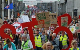 Lo sợ thất thế, người Bỉ phản đối thỏa thuận thương mại với Mỹ