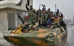 Phần lớn vùng đông Aleppo về tay quân chính phủ Syria