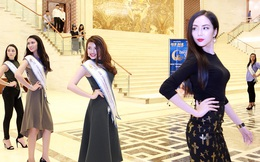 Biểu tượng thời trang quốc tế huấn luyện thí sinh Hoa hậu