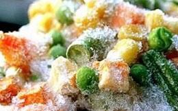 Thực phẩm sạch cũng gây ngộ độc chỉ vì đông lạnh không đúng cách
