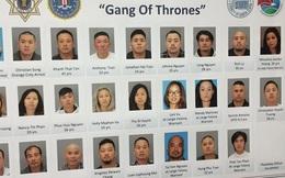 Cảnh sát Mỹ triệt tiêu băng nhóm tội phạm gốc Việt