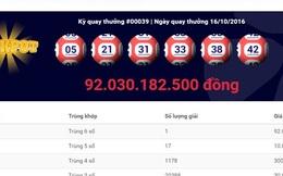 Giải độc đắc 92 tỷ đồng: Chưa phải mức cao nhất người Việt từng trúng