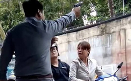 Bắt khẩn cấp giám đốc nổ súng hù dọa người phụ nữ ở Sài Gòn