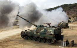 Hàn Quốc tập trận, bắn 1.500 phát đạn sát biên giới Triều Tiên