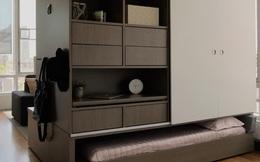 Hệ thống nội thất robot giúp bạn thay đổi kết cấu của nhà chỉ bằng 1 nút bấm