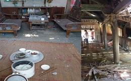 Yên Bái: Nổ mìn, 6 ngôi nhà bị thủng mái, nhiều trẻ em bị thương