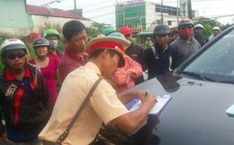 Nữ tài xế bị cẩu cả xe và người tuyên bố sẽ kiện, Phó trạm trưởng CSGT: CA có đủ chứng cứ
