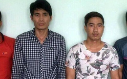 4 thanh niên dùng trang sức giả lừa hàng loạt tiệm vàng