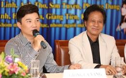 """Ca sĩ Quang Linh bị """"quây"""" tại họp báo của Chế Linh"""
