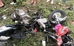 Xe tải mất lái đâm cả gia đình khiến 3 người thương vong
