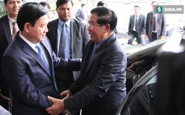 Bí thư Thăng hội kiến Thủ tướng Campuchia tại Dinh Thống Nhất