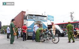 Va chạm với xe container, người vợ bị cuốn vào gầm tử vong tại chỗ