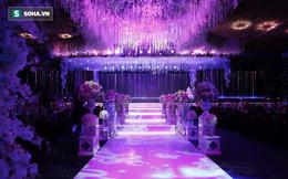 """Cận cảnh không gian tiệc cưới lộng lẫy """"như phim ngôn tình"""" của Trấn Thành - Hari Won"""