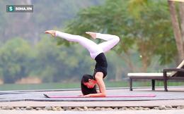 """""""Cô gái vàng"""" Yoga Việt Nam hướng dẫn các bài tập giảm mỡ bụng hiệu quả nhất"""