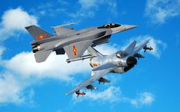 """J-10 Trung Quốc có đủ sức """"bắt nạt"""" F-16 Block 52?"""