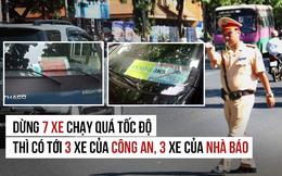 Bắt xe vi phạm: Công an, nhà báo... sao nỡ ngồi lên luật